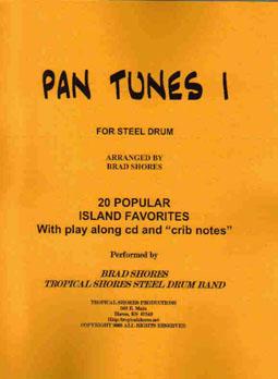 """Steel Drum Play Along Book /""""Pan tunes 4/"""""""
